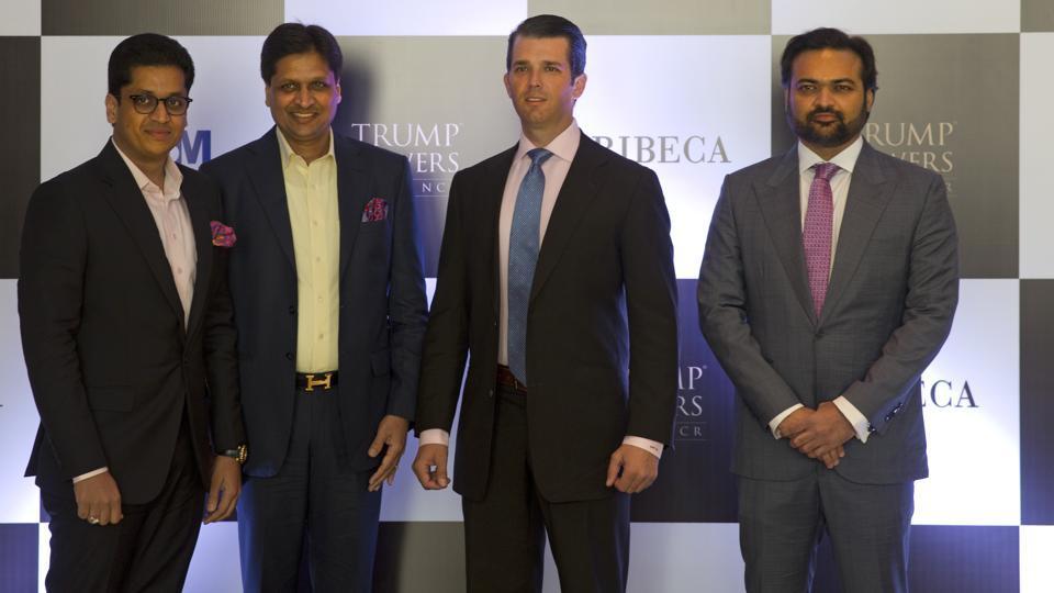 Donald Trump Jr. meets real estate developers in Delhi