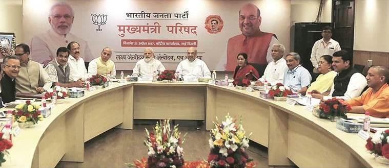 Test of power: When PMNarendra Modi invited BJP CMs for a 12-point exam on govt agenda