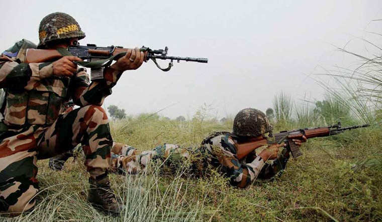 Army takes down Pak intruder near LoC