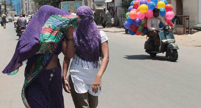 100 people killed in heat wave in Telangana and  Andhra Pradesh