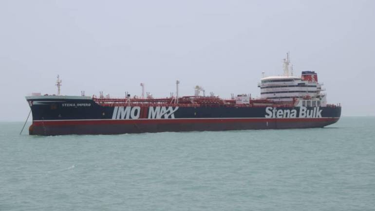 India in touch with Iran to secure release of 18 Indians aboard seized British oil tanker