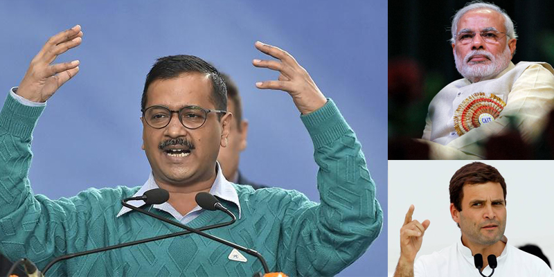 Arvind Kejriwal seeks appointments from PM Modi, Rahul Gandhi regarding issue of sealing of shops