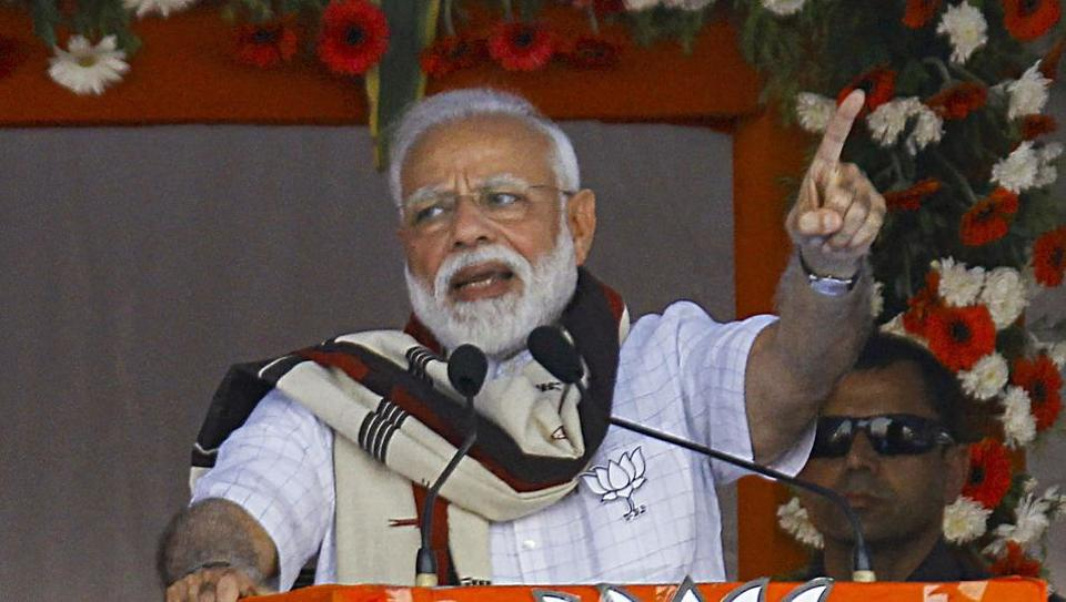 Will provide regular monthly pension to farmers if voted to power again: PM Modi