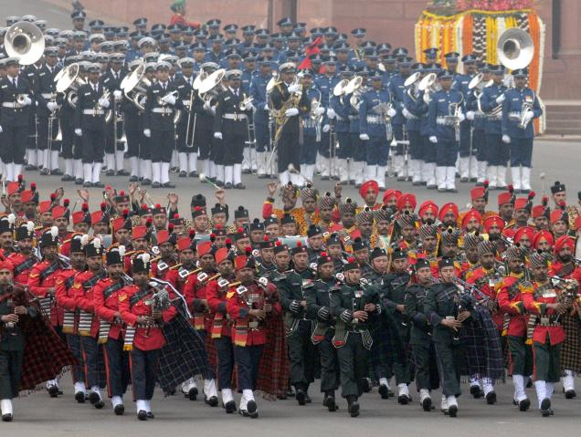 Beating Retreat ceremony marks end of Republic Day