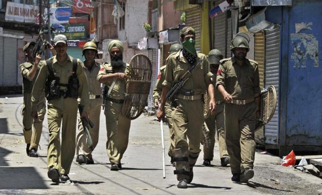 Five overground  workers of terror outfits arrested in J&K