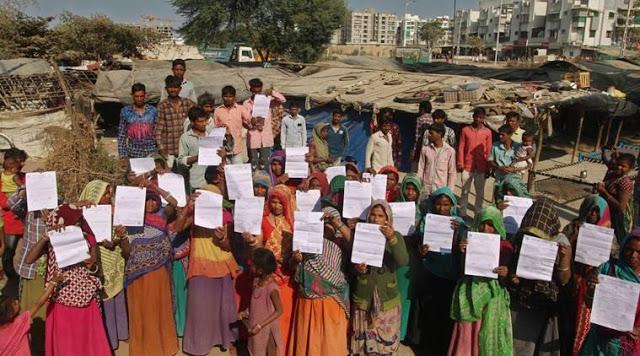 Gujarat: Ahead of US President's visit, AMC asks slum-dwellers to vacate