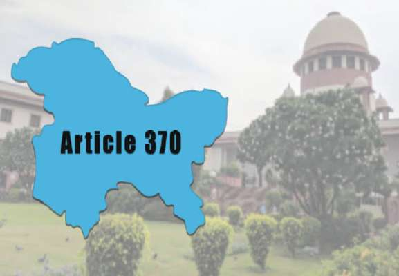 Abrogation of Article 370 irreversible, Centre tells SC
