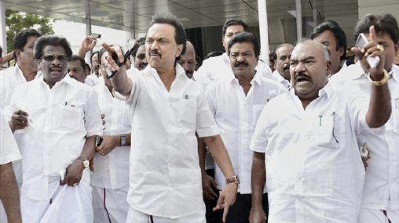 Shutdown strike in Tamil Nadu, DMK