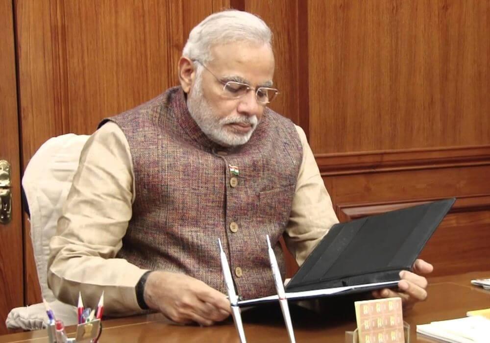 India on the cusp of digital revolution: PM Modi