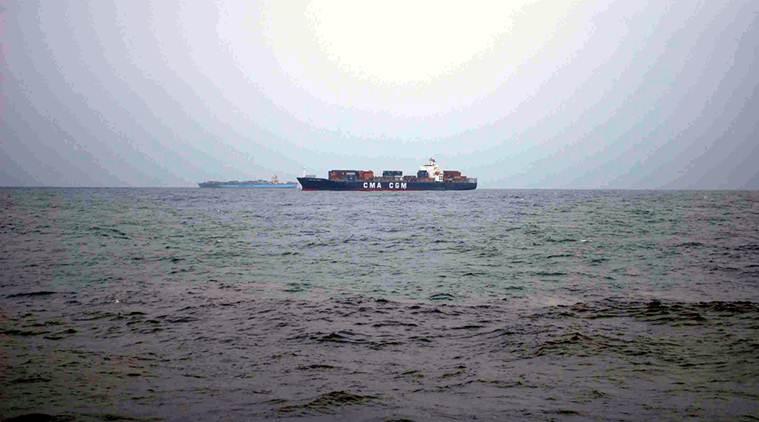 SCI vessel sinks off Mumbai coast