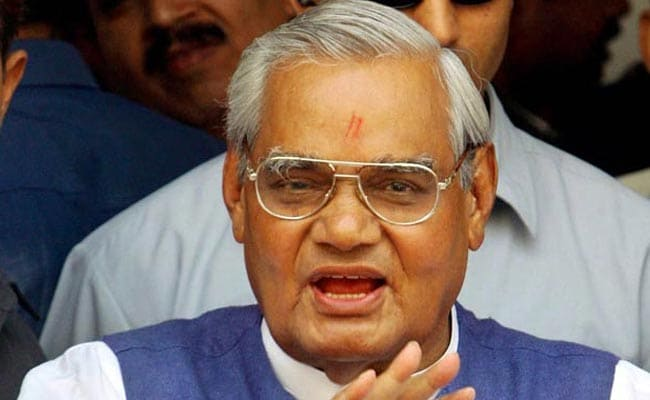 UP government to reimburse Vajpayee