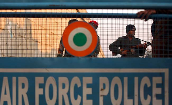 Air force distributes posters in Pathankot as part of awareness drive