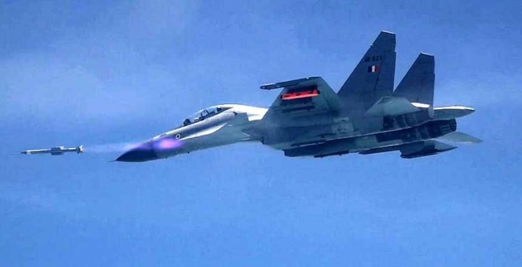 Indian Air Force successfully flight tests air-to-air Astra missile from Sukhoi-30 MKI