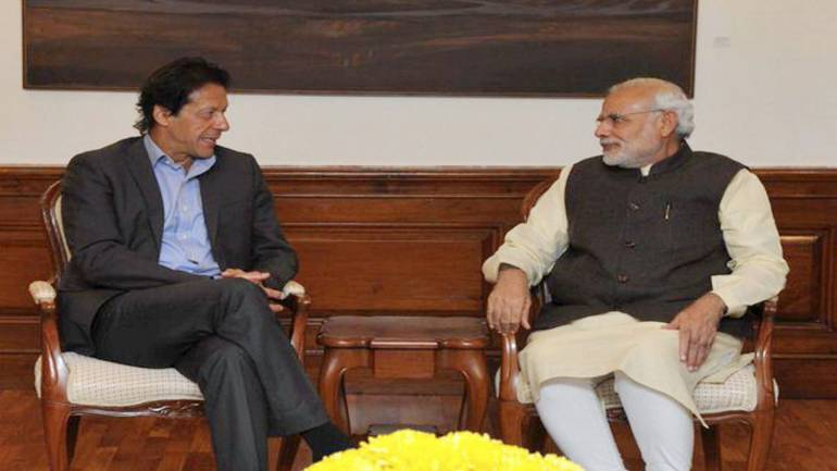 Narendra Modi, Imran Khan exchange pleasantries during SCO Summit at Bishkek