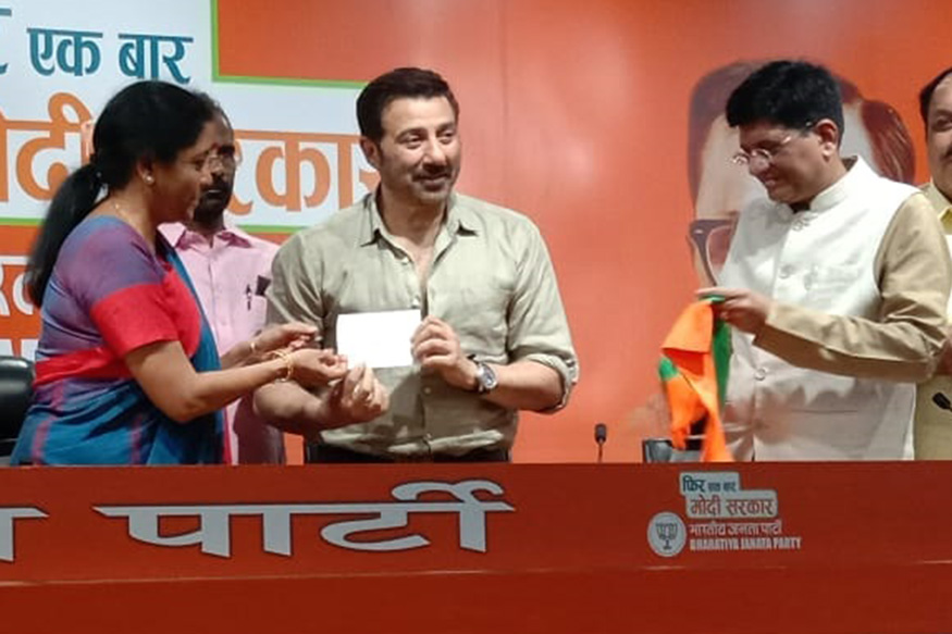 Film star Sunny Deol joins BJP
