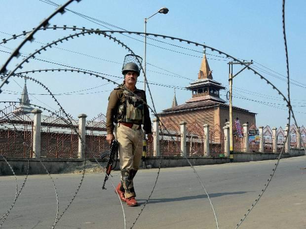 Restrictions in parts of Srinagar