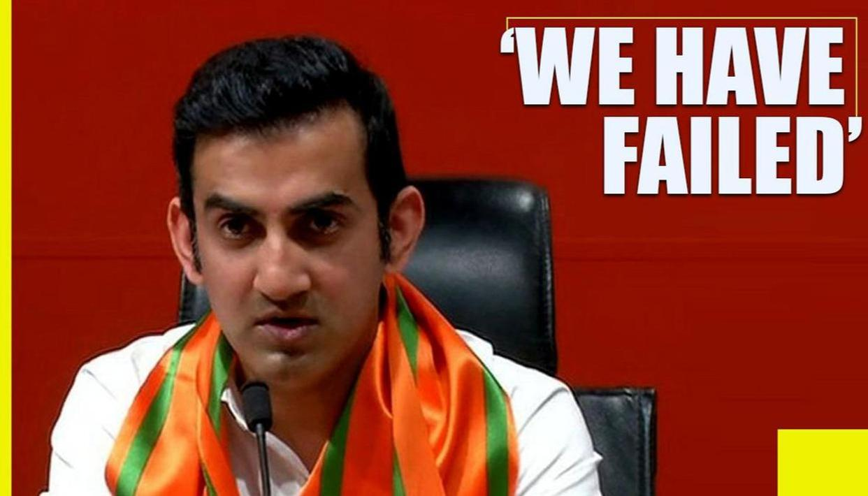 We have failed as a nation, I feel ashamed: Gautam Gambhir on Unnao case