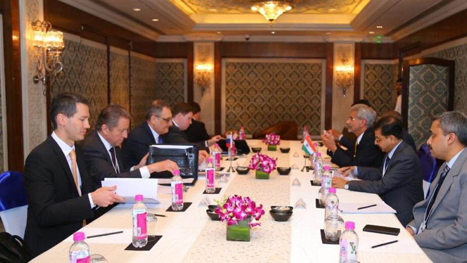 Foreign Secretary S Jaishankar holds talks with Russian Deputy Foreign Minister Igor Morgulov in New Delhi