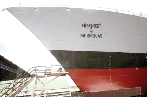 New navy warship INS Mormugao to be launched on Sep 17