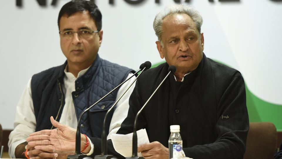 Ashok Gehlot accuses BJP govt of trying to dismantle state govts