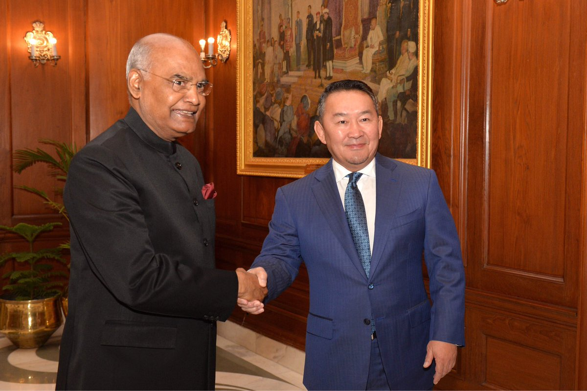 India, Mongolia sign MoUs