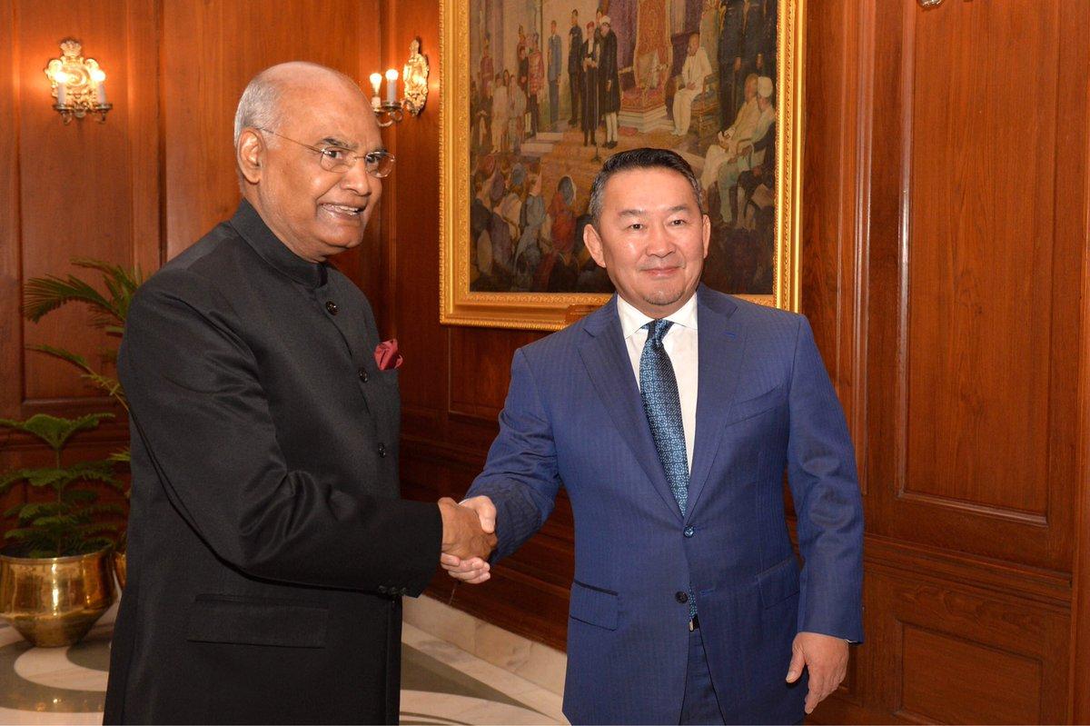 India, Mongolia sign MoUs