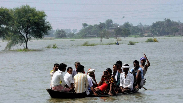 Flood situation continues to affect normal life in Rajathan, Bihar and Madhya Pradesh