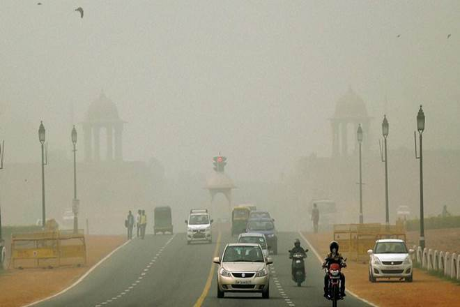 Air quality very poor in Delhi