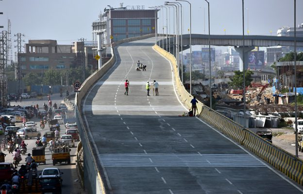 Hyderabad Biodiversity flyover mishap: Techie's license suspended