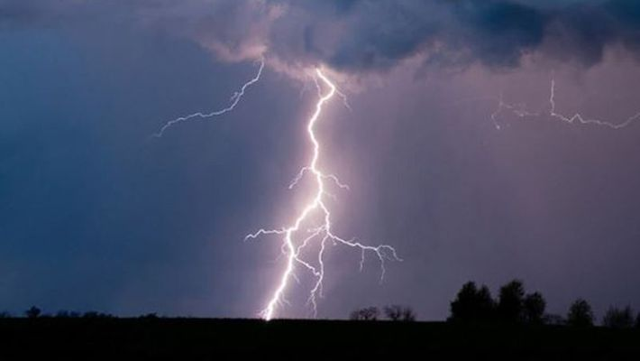At least 51 people were killed and nine others injured in lightning strikes in Bihar and Jharkhand