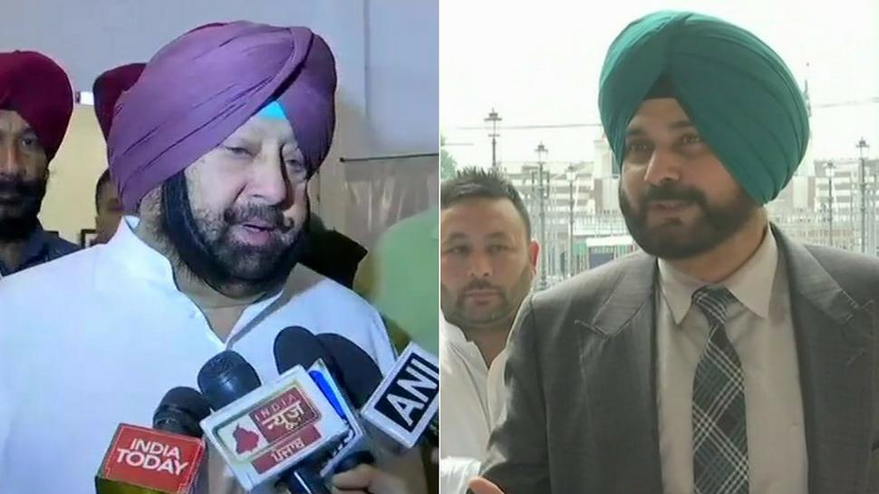 Punjab CM Amarinder Singh accepts Navjot Sidhu