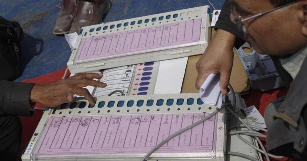 Poll body rubbishes EVM tampering allegations by Opposition