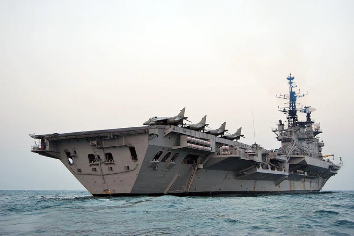 Indian Navy aircraft carrier