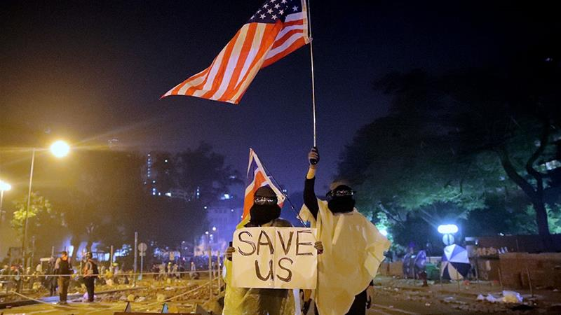 US Congress passes Hong Kong human rights bill