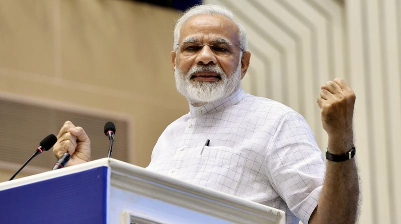Editorial freedom should be used in public interest: Modi