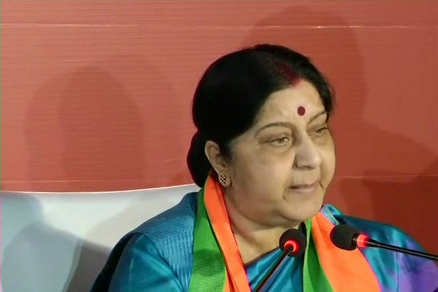 Sushma Swaraj urges Indians to leave war-torn Tripoli