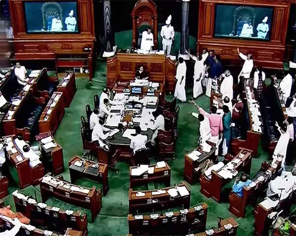 Lok Sabha adjourns till 2 pm