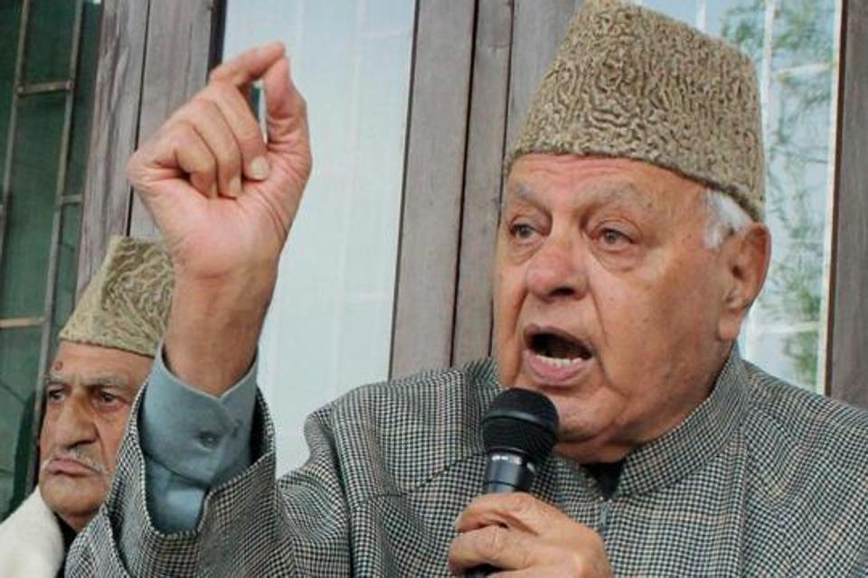 Farooq Abdullah detained under Public Safety Act for 12 days