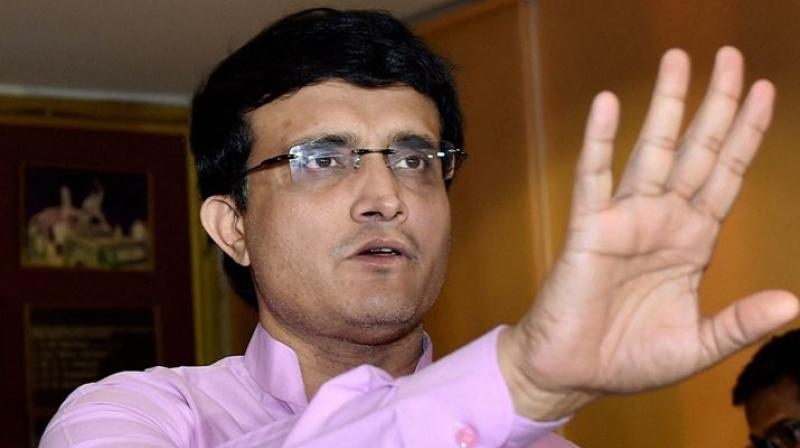 Copy of the death threat letter which Sourav Ganguly received