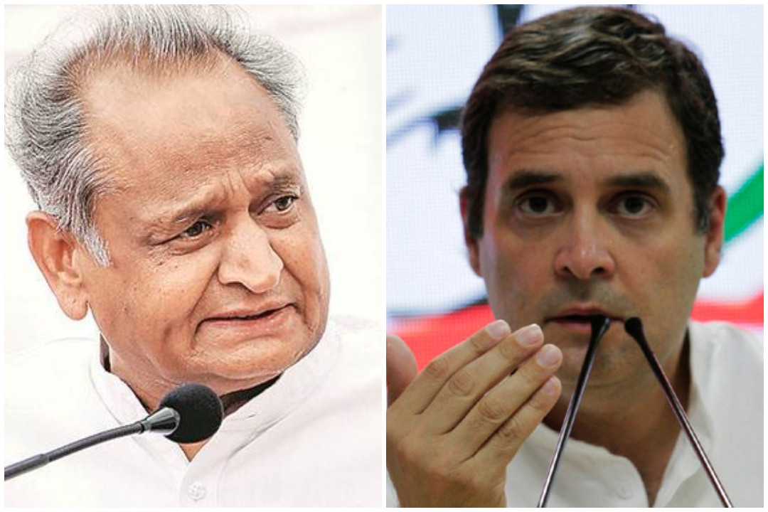 My decision is clear: Rahul Gandhi rejects Ashok Gehlot