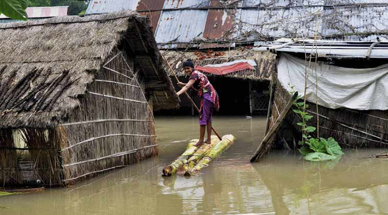 Flood situation remain grim in Assam