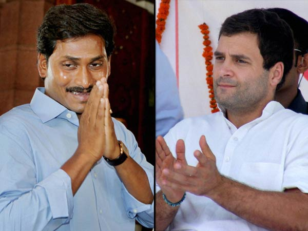 Rahul Gandhi congratulates Jagan on being sworn in as CM
