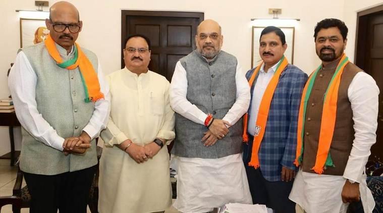 Rajya Sabha recognises four TDP MPs as BJP members
