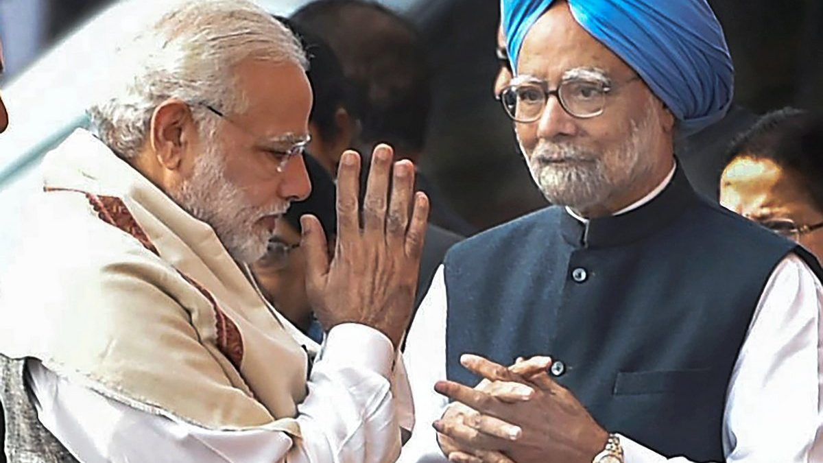 PM Modi greets Manmohan Singh on his birthday