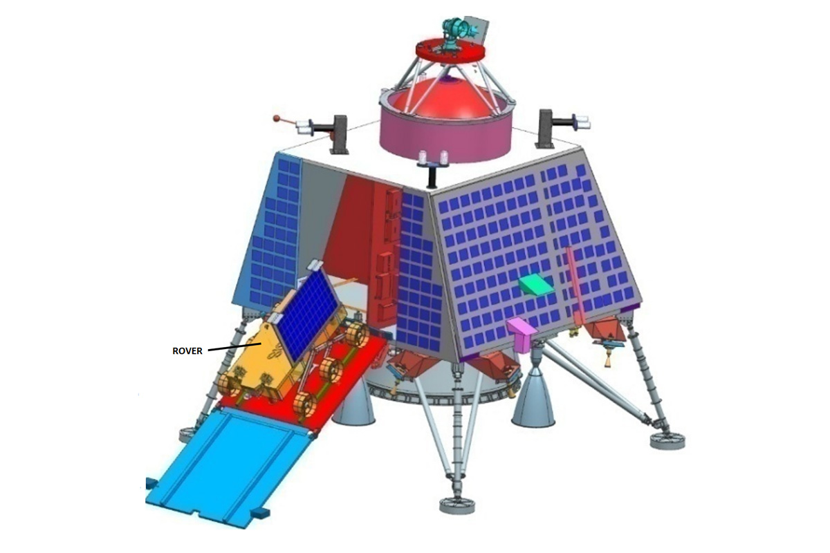 Lander and rover meant for Chandrayaan-2 reaches ISRO