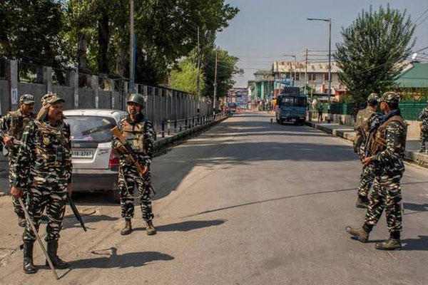 Curfew-like restrictions had been reimposed on Sunday in several parts of Kashmir ,Ahead of Muharram