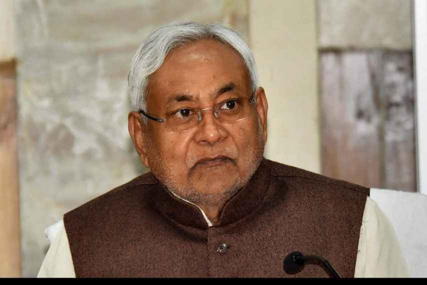 Bihar CM calls upon people to fight against Covid with strong will power