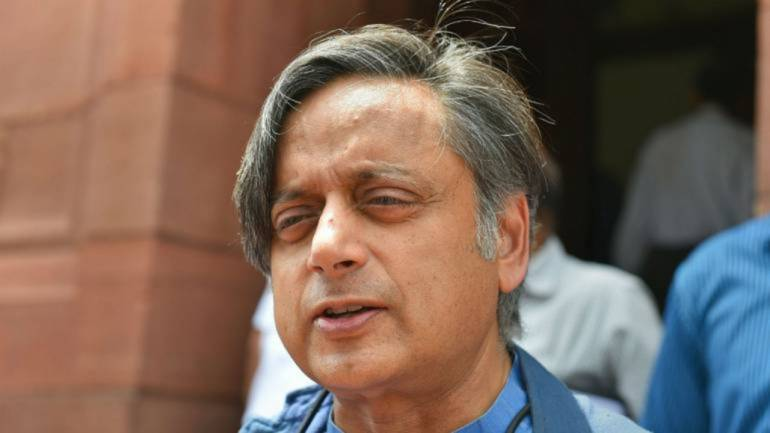Shashi Tharoor hits out at BJP govt over electoral bonds, seeks Modi
