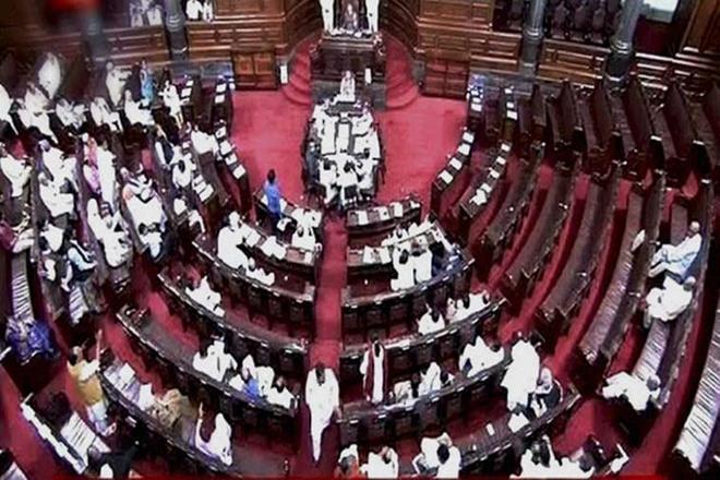 Rajya Sabha adjourned till 2 pm