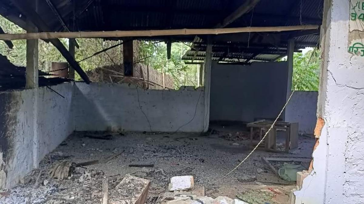 Mosque vandalised, shops torched during VHP rally in Tripura